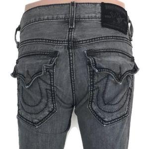 True Religion Men's Ricky Giant Big T Jeans S 28